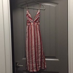 Lulu's Dresses - Lulu's stripes midi-dress. Brand new!